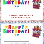 Student Birthday Certificate Template