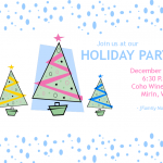 Family Holiday Invitations