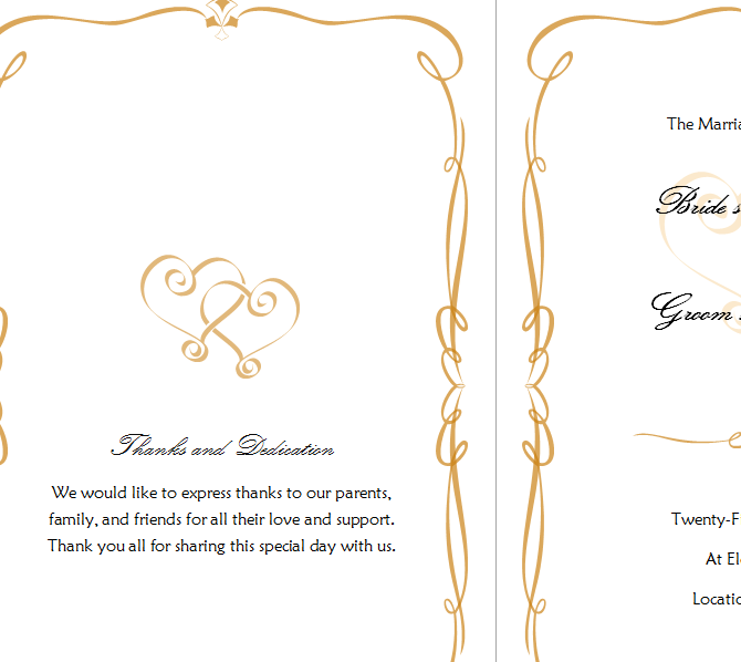 Simple Wedding Invitation Template Template Haven – Homemade Wedding Invitation Templates
