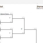 Double Elimination Bracket Sheet