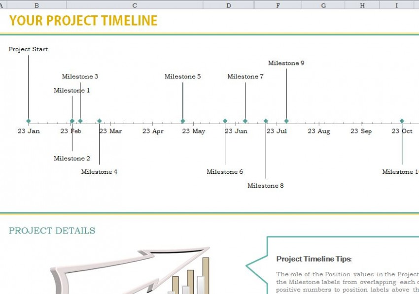 business timeline example