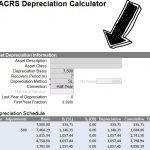 Depreciation Calculation Template