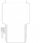 Envelope Cutout Template