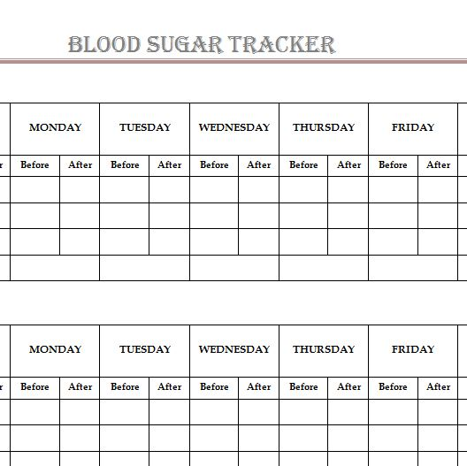 track blood sugar