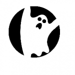 Halloween Pumpkin Carving Ghost Template