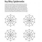 Halloween Pumpkin Carving Spider Web Template