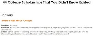 44 College Scholarships That You Didn't Know Existed