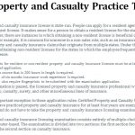Property and Casualty Practice Test
