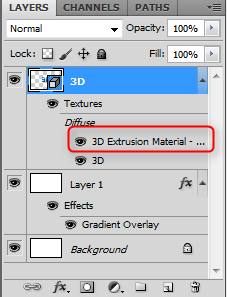 3D Extrusion