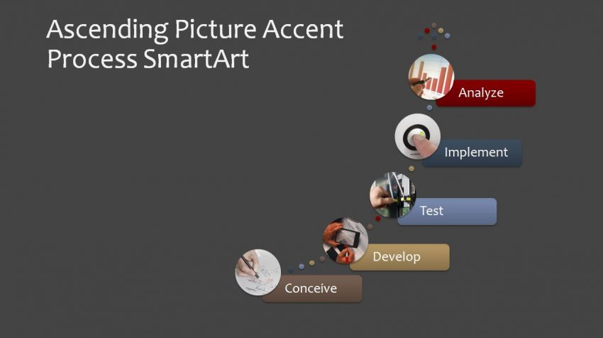 Ascending Picture Accent Process SmartArt