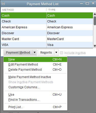 How To Recieve Payments in Quickbooks