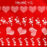 Heart Photoshop Brush Templates