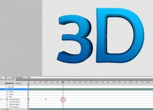 How to Create Rotating 3D Object as GIF in Photoshop