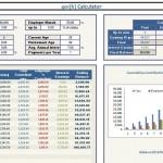 Screenshot of the 401k Retirement Calculator