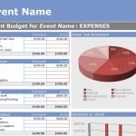 Event Budget Template screenshot