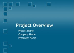Project Plan PowerPoint Template Image