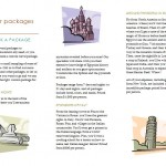 screenshot of the Travel Brochure Template