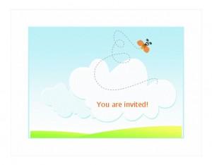 BBQ Invitation Template photo