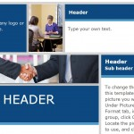 Screenshot of the Business Flyer Template