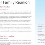 Download the Family Reunion Newsletter template