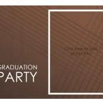 Screenshot of the Graduation Party Invitation Templates