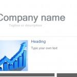 Screenshot of the Outlook Newsletter Template