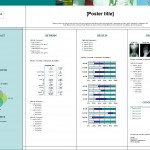Screenshot of the Scientific Poster Template