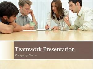 The Teamwork PowerPoint Template