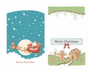 Free Christmas Notecards