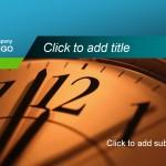 Free Clock Template
