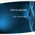 Screenshot of the DNA Template