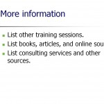 Screenshot of the Employee Training Program Template