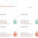 holiday gift coupons screenshot