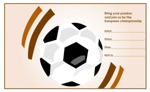Free Soccer Party Invitations