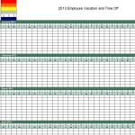 Photo of the Vacation Tracking Template