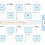 Free Wedding Reception Seating Chart