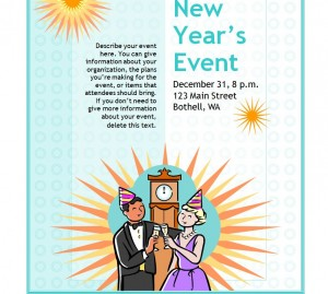 Free New Years Eve Flyer