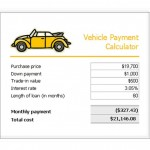 Car Loan Payment Calculator Free