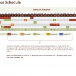 Free Employee Vacation Calendar Excel Template