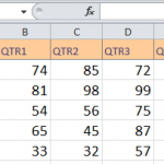 Chart Creation in Excel