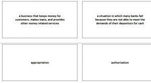 Economics Flash Cards for Kids