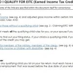 EITC Qualification