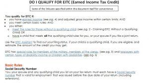 EITC Qualification