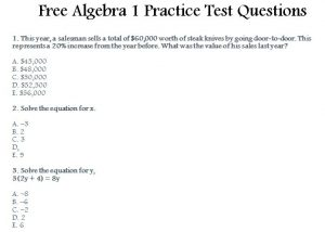 STAAR Test Review Template