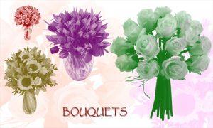 Photoshop Flower Templates